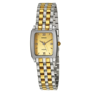 Rado Women's 'Diastar' Water-resistant Hardmetal Quartz Watch