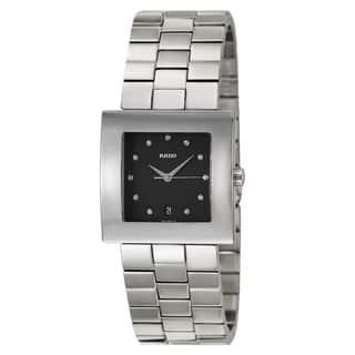 Rado Men's 'Diastar Jubile' Stainless Steel Quartz Watch|https://ak1.ostkcdn.com/images/products/8481577/Rado-Mens-Diastar-Jubile-Stainless-Steel-Quartz-Watch-P15770078.jpg?impolicy=medium