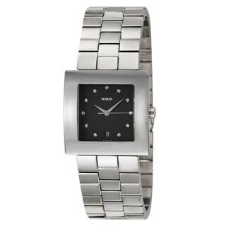 Rado Men's 'Diastar Jubile' Stainless Steel Quartz Watch