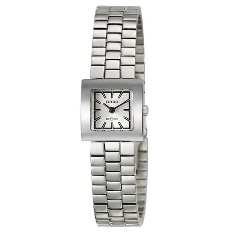 Rado Women's 'Diastar' Stainless Steel Quartz Watch