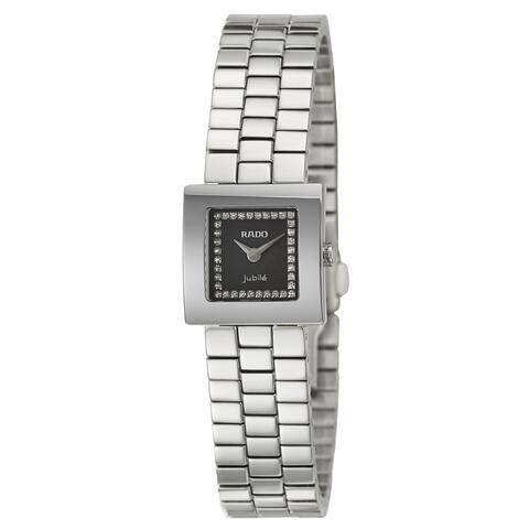 Rado Women's R18682723 'Diastar' Diamond Stainless Steel Watch
