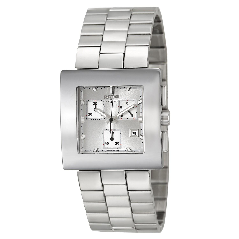 Rado Women's 'Diastar Chronograph' Stainless Steel Silver...