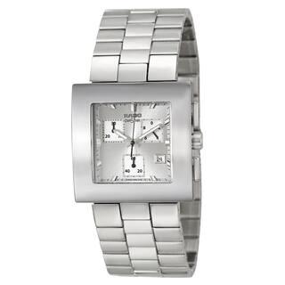 Rado Women's 'Diastar Chronograph' Stainless Steel Silver-tone Chronograph Watch|https://ak1.ostkcdn.com/images/products/8481581/Rado-Womens-Diastar-Chronograph-Stainless-Steel-Silver-tone-Chronograph-Watch-P15770081.jpg?impolicy=medium