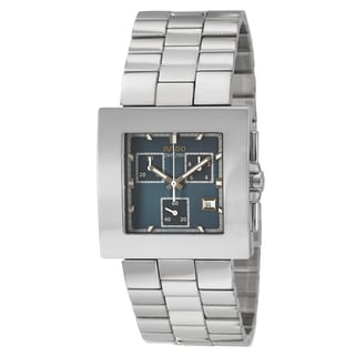 Rado Men's 'Diastar Chronograph' Stainless Steel Chronograph Watch