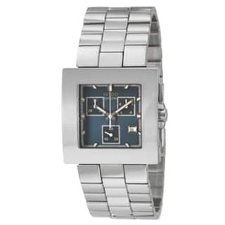 Rado Men's 'Diastar Chronograph' Stainless Steel Chronograph Watch|https://ak1.ostkcdn.com/images/products/8481582/Rado-Mens-Diastar-Chronograph-Stainless-Steel-Chronograph-Watch-P15770082.jpg?impolicy=medium