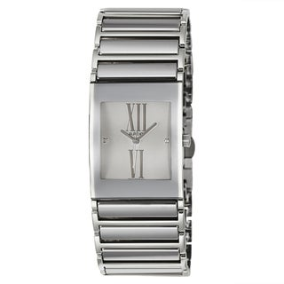Rado Women's 'Integral Jubile' Stainless Steel Quartz Watch