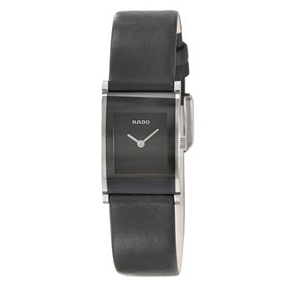 Rado Women's 'Integral' Stainless Steel Quartz Watch