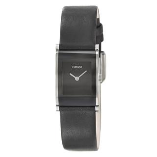 Rado Women's 'Integral' Stainless Steel Quartz Watch