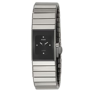 Rado Women's 'Ceramica' Ceramic Quartz Watch