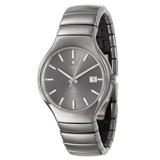 Rado Men's 'Rado True' Dark Gray Ceramic Automatic Watch