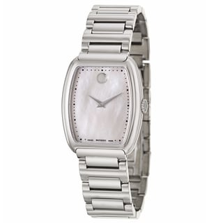 Movado Women's 'Concerto' Stainless Steel Swiss Quartz Watch