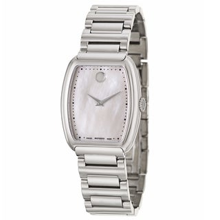 Movado Women's 0606547 'Concerto' Stainless Steel Swiss Quartz Watch