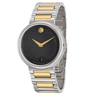 Movado Men's 'Concerto' Stainless Steel Swiss Quartz Watch