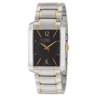 ESQ Movado Men's 'Synthesis' Stainless Steel Yellow Gold-Tone Watch
