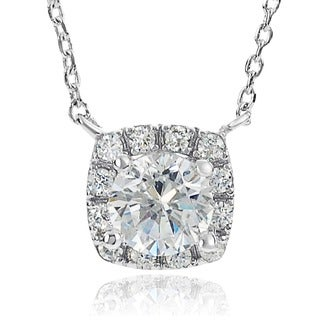Journee Collection Cubic Zirconia Drop Necklace