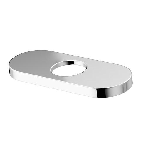 VIGO 4-in. Bathroom Deck Plate in Chrome