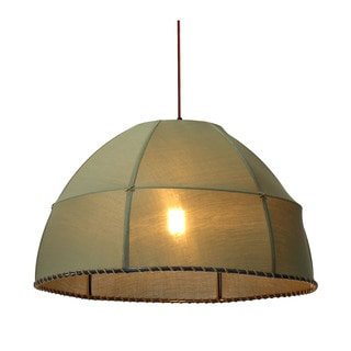 Marble 1-light Pea Green Ceiling Lamp