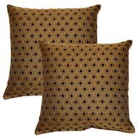 Glimpse Pepper 17-in Throw Pillows (Set of 2)