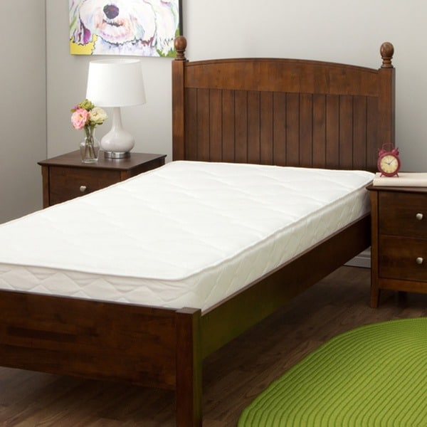 Reversible Quilted 7-inch Twin XL-size Foam Mattress