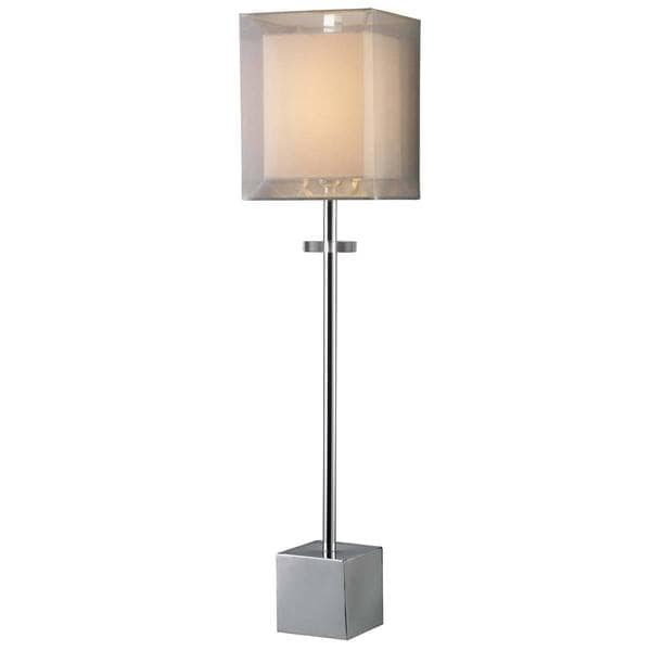 Dimond Lighting Exeter 1-light Chrome Table Lamp
