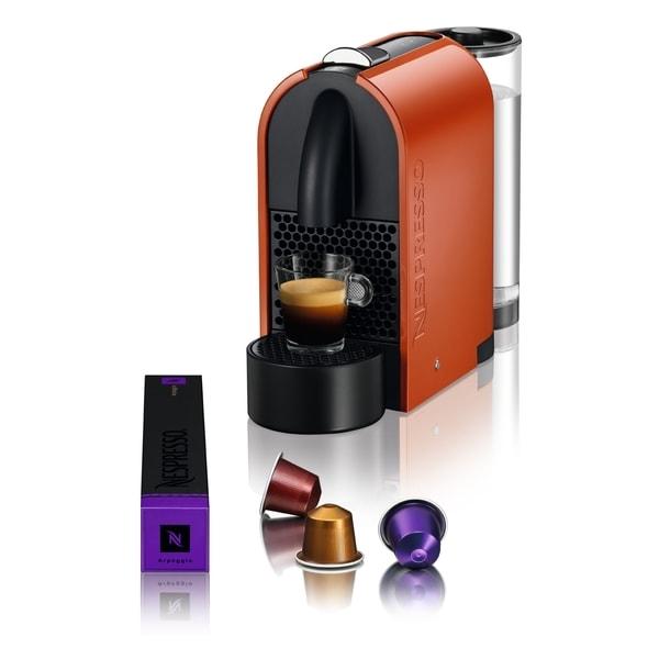 Nespresso D50-US-OR-NE U Orange Espresso Machine