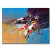 Tapia 'New World I' Canvas Art - Multi