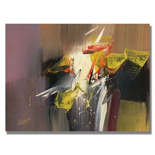 Tapia 'Force of Nature I' Canvas Art
