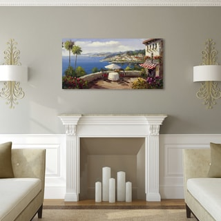 Rio 'Italian Afterernoon' Canvas Art