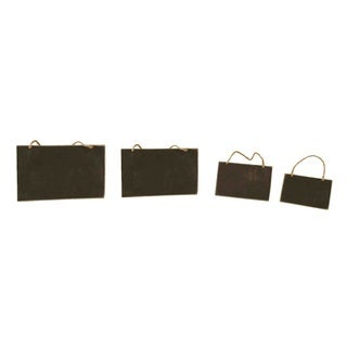 Wald Imports Chalkboards Set of 4
