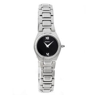 Seiko Women's SUJD53 Black Dial Watch