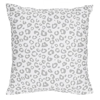 Sweet Jojo Designs Pink/ Gray Kenya Decorative Accent Throw Pillow