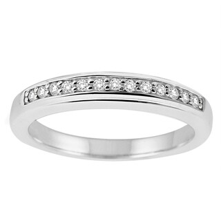 Sterling Silver 1/8ct TDW Diamond Band (More options available)