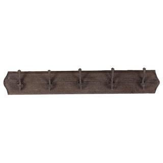 Wooden Wall Hook-Dark Brown
