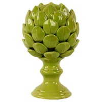 Small Porcelain Artichoke Green