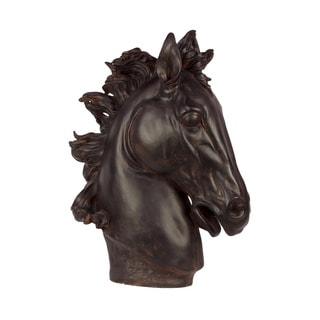 Resin Horse Head Statue