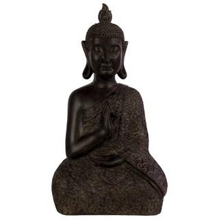 Urban Trends Brown Resin Buddha Statue