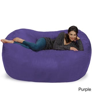 Large Memory Foam Micro Suede Beanbag Couch (More options available)