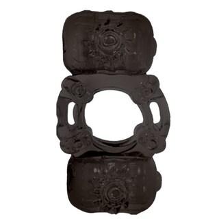 Nasstoys The Macho Stallions Partner's Pleasure Ring in Black