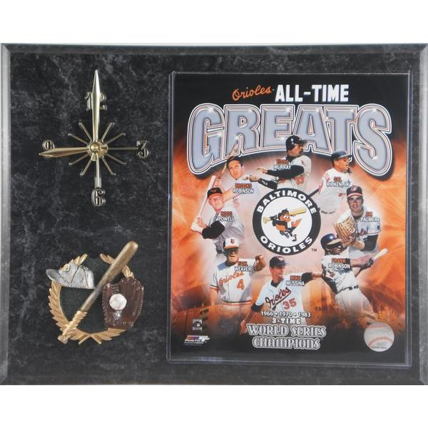 Orioles 'All Time Greats' Clock