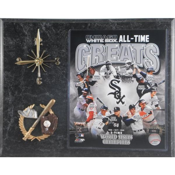 MLB Chicago White Sox 'All Time Greats' Clock