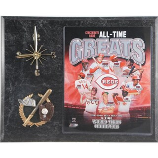 Cincinnati Reds 'All Time Greats' Clock