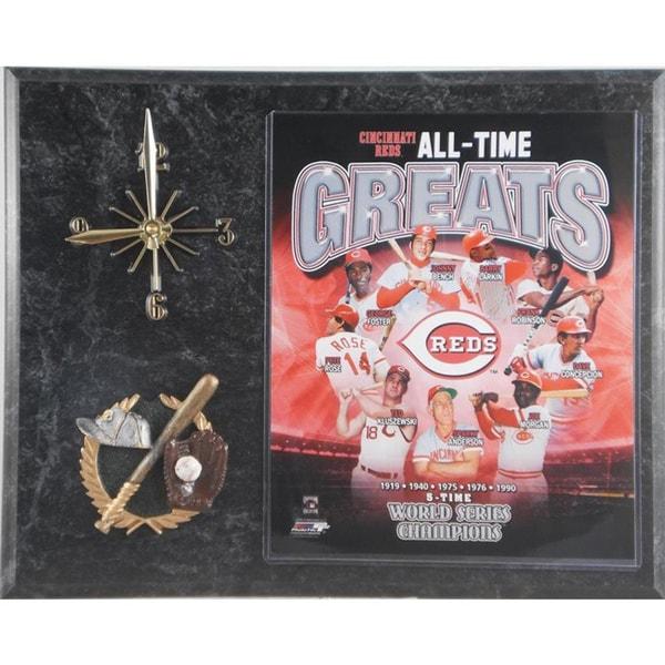 Cincinnati Reds 'All Time Greats' Clock