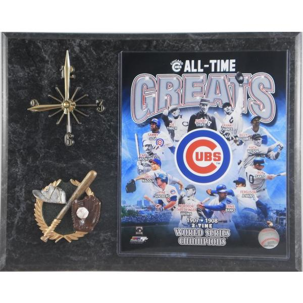 Chicago Cubs 'All Time Greats' Clock