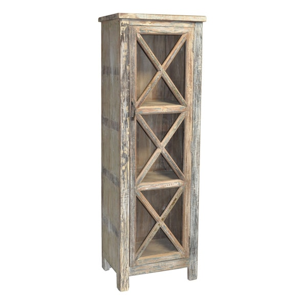 Kosas Home Reclaimed Wood Snipe Cabinet