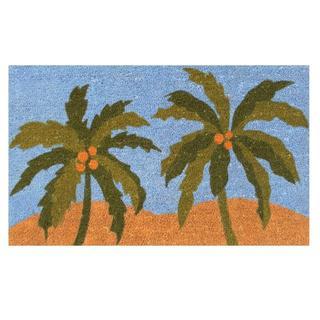 """Island Breeze-Coir with Vinyl Backing Doormat (17"""" x 29"""")"""