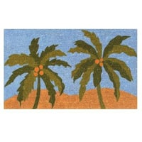 "Island Breeze-Coir with Vinyl Backing Doormat (17"" x 29"")"