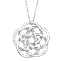 Silver eternal celtic knot pendant on 18 inch necklace free gioelli sterling silver celtic knot necklace mozeypictures Choice Image