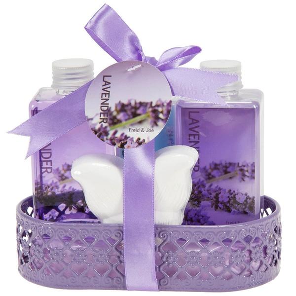 Lavender Bath and Body Gift Basket