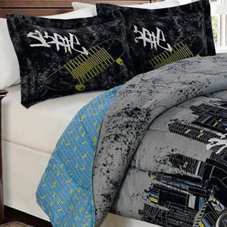 Shop Reversible Skate Comforter Free Shipping On Orders