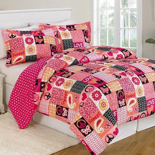 Peace & Love Comforter